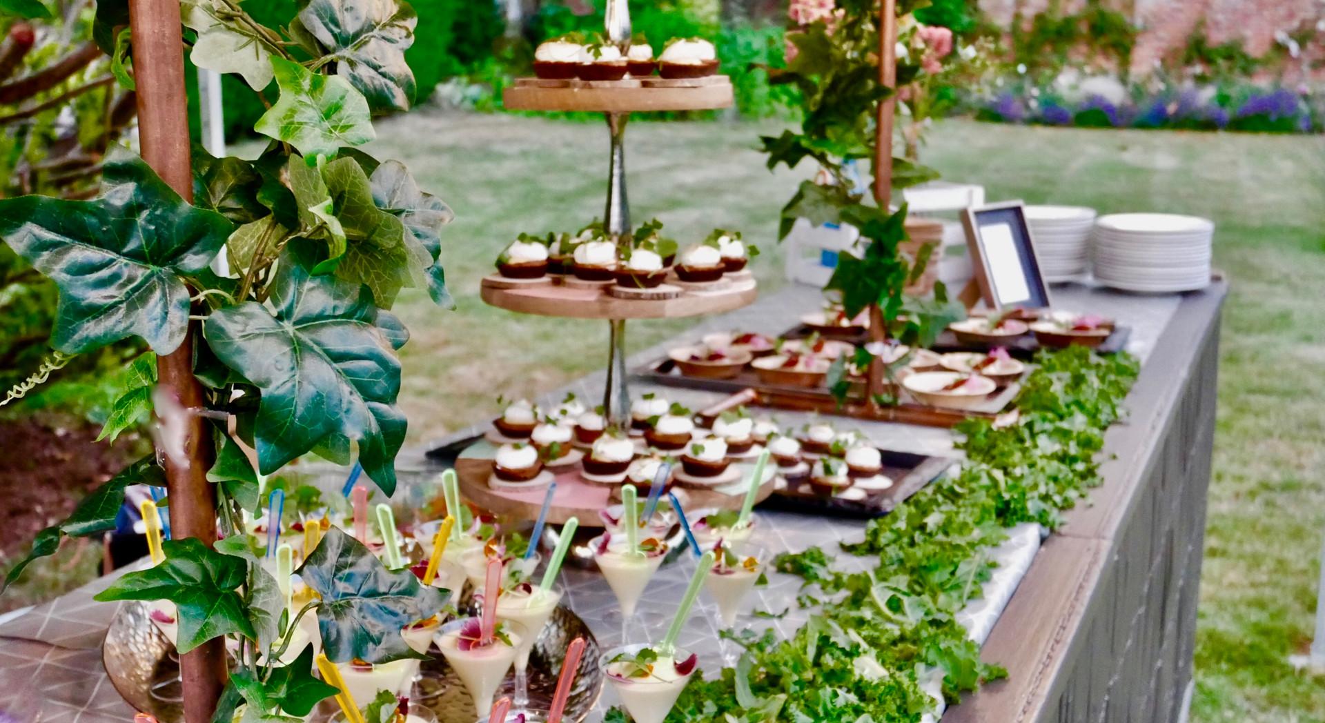 Wedding dessert buffet caterers