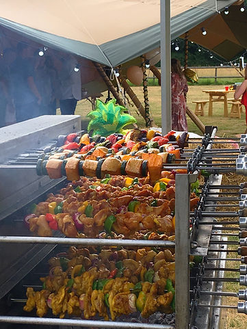 Brazilian churrasco bbq catering London & Surrey