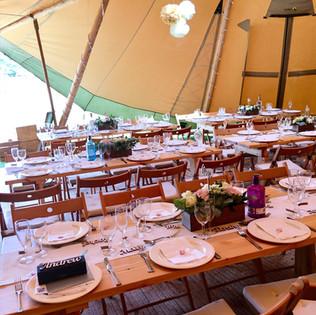 spark wedding catering Surrey