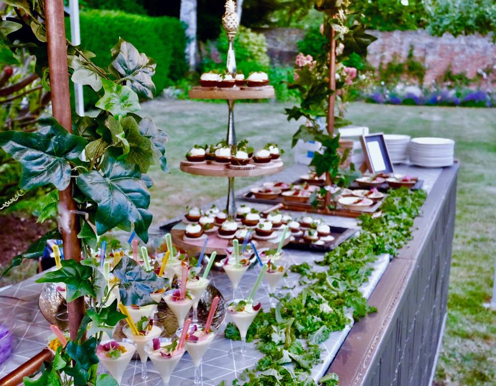 bbq dessert buffet catering Surrey