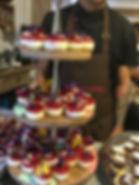 Dessert buffet for weddings