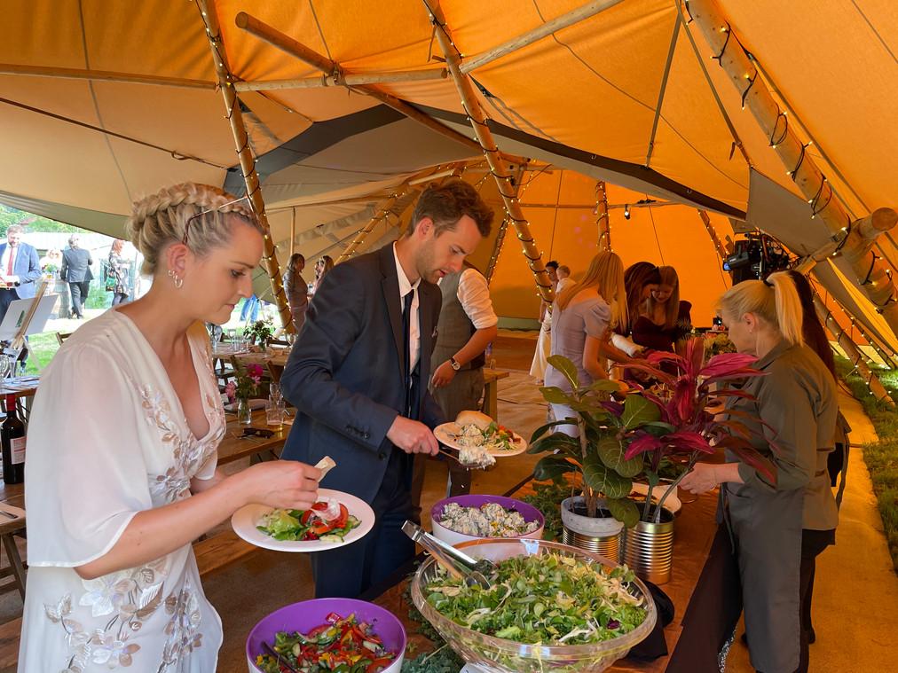 Wedding caterers Surrey