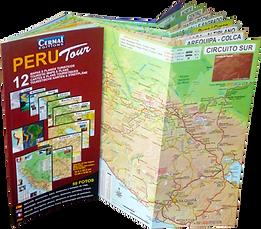 carte guide du perou