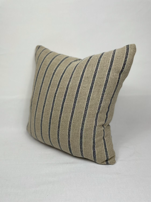 Wool mix striped scatter cushion