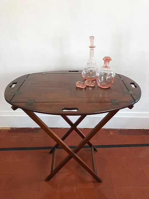 Early Victorian butlers tray