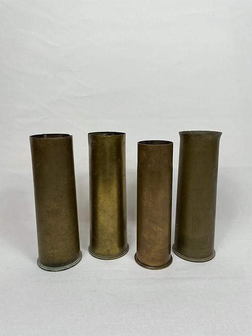 Ammunition casing shells