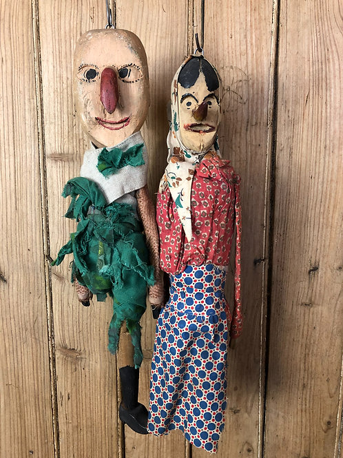 Sicilian marionette - Punch and Judy