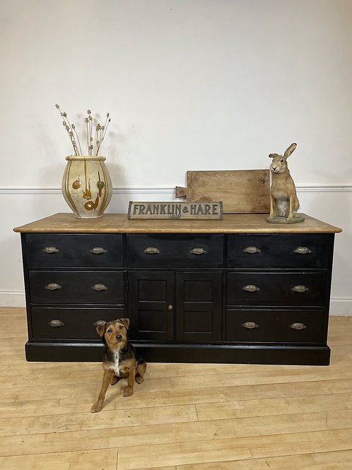 Large bank of drawers