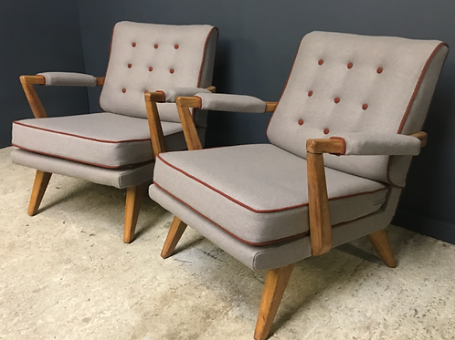 G plan arm chairs