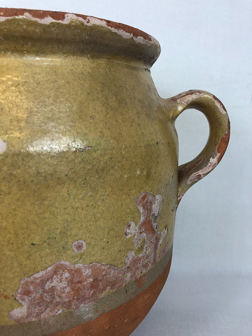 Antique confit pot