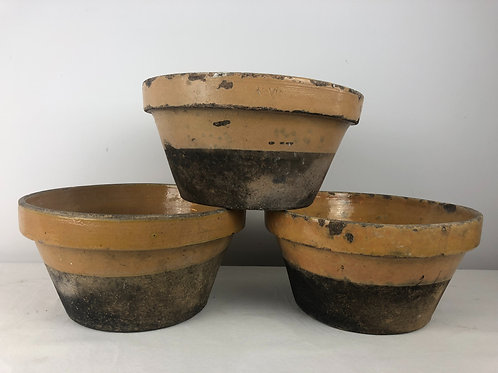 Antique Confit bowls x 5 (Priced individually)