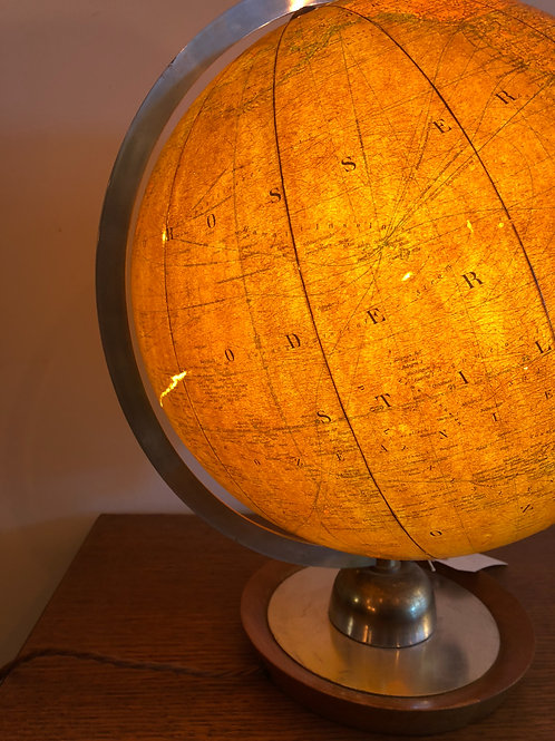 German GLOBUS glass globe
