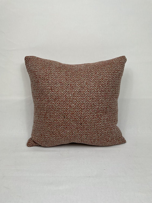 ' Rust' wool scatter cushions