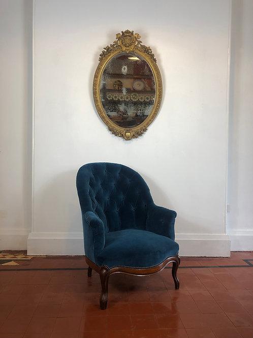Napoleon III armchair - Newly upholstered