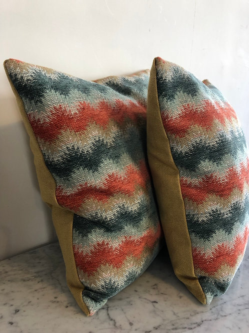 Feather filled scatter cushion