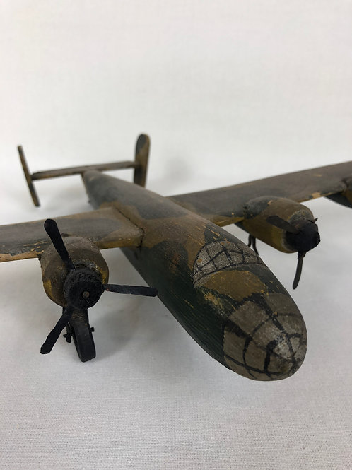 Scratch built plane