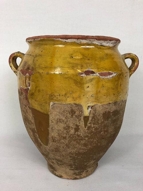 Antique confit pot