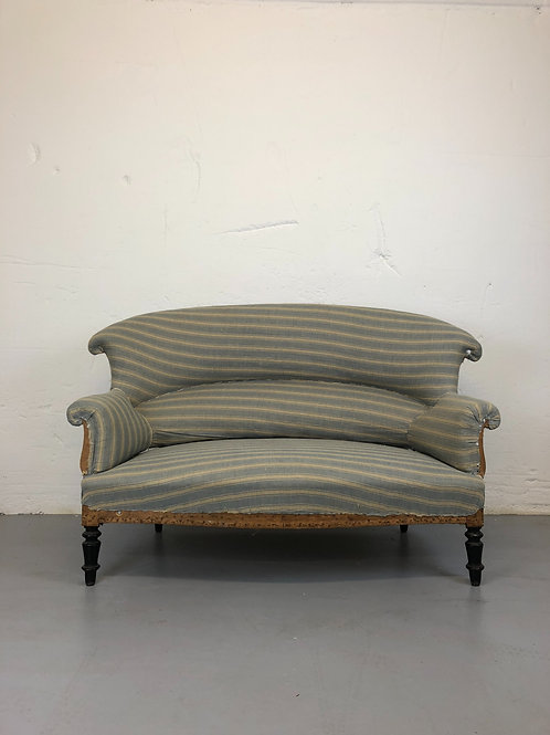 Antique 2 seat sofa (re-upholstery inclusive)