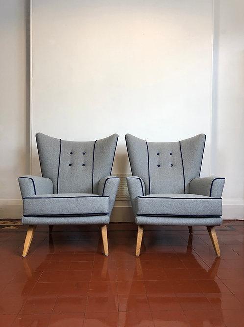 1950's Gplan armchairs
