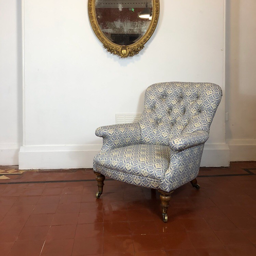 Howard and sons easy armchair