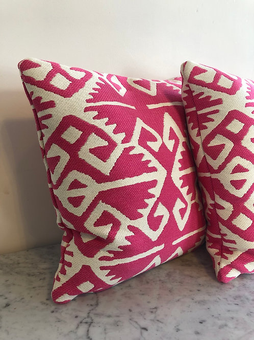 Duck feather filled scatter cushions