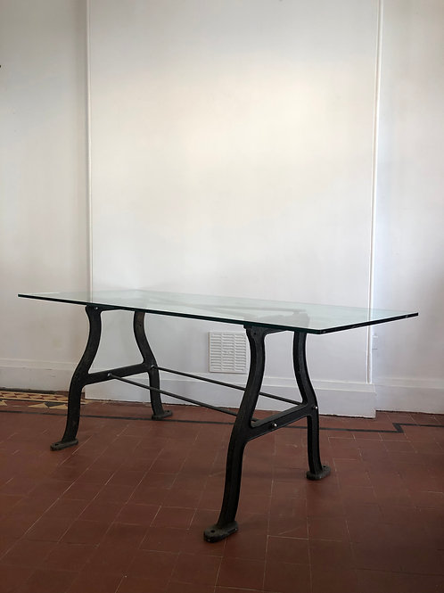 Industrial dining table / retail display table