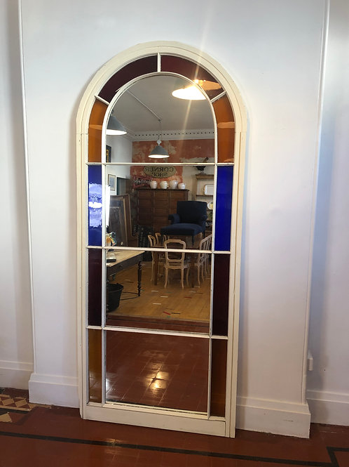 Large Arch window mirror