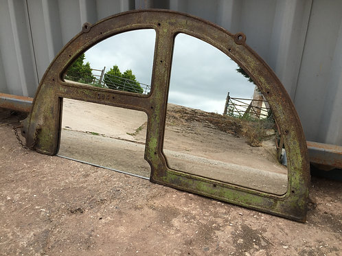 Up-cycled Industrial Mirror