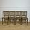 Thumbnail: Antique elm chairs set of 6