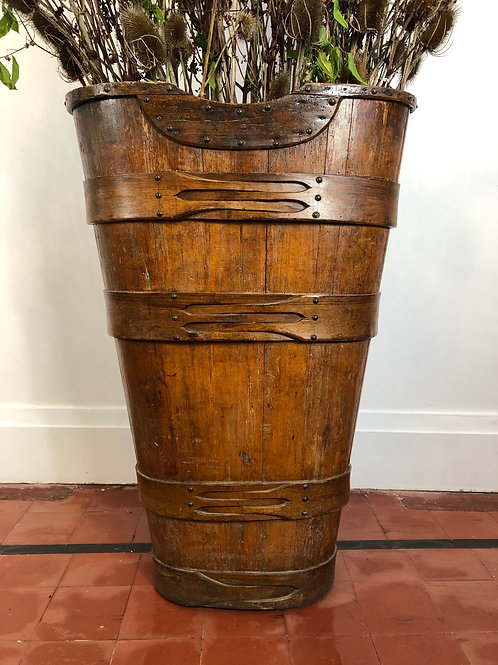 19th century french grape hopper