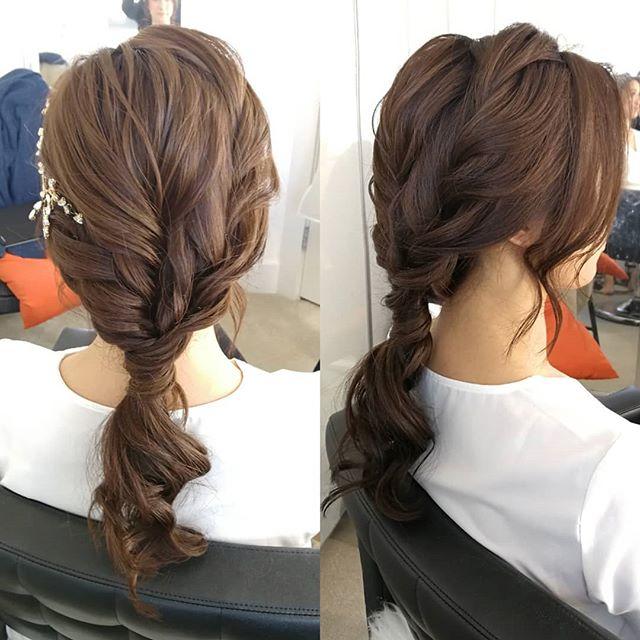 soft elegant hair style
