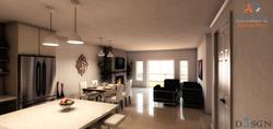 Bradford Place Living Room