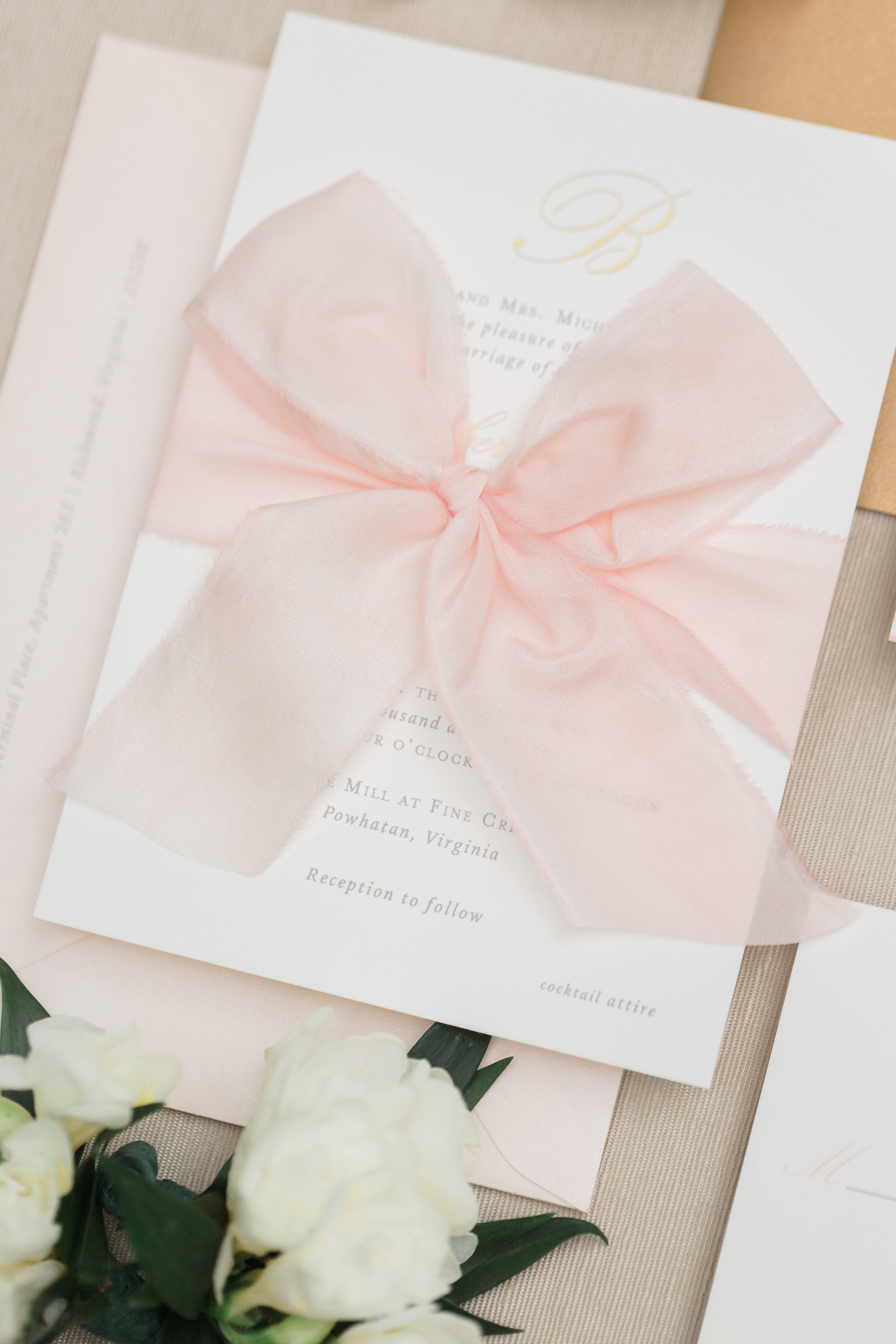 Silk Ribbon Finishing Touch