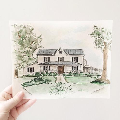 Custom Home or Venue Portrait
