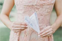 Save the Date Paper Airplane