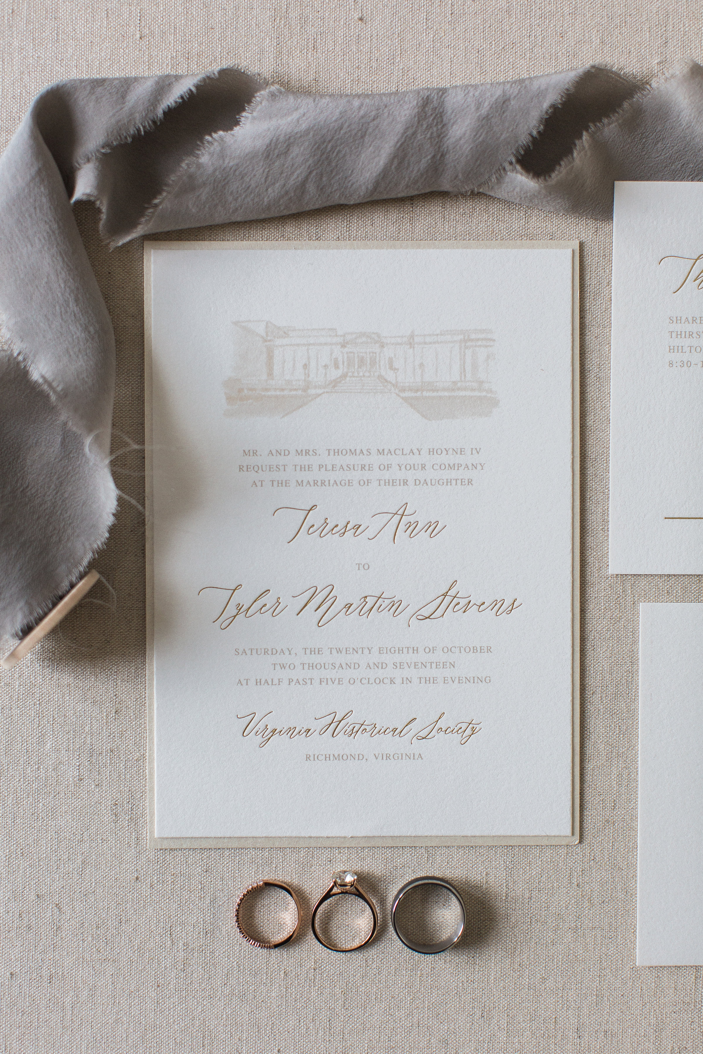 VMFA Wedding Invitation