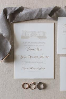 VMFA Wedding Invitation