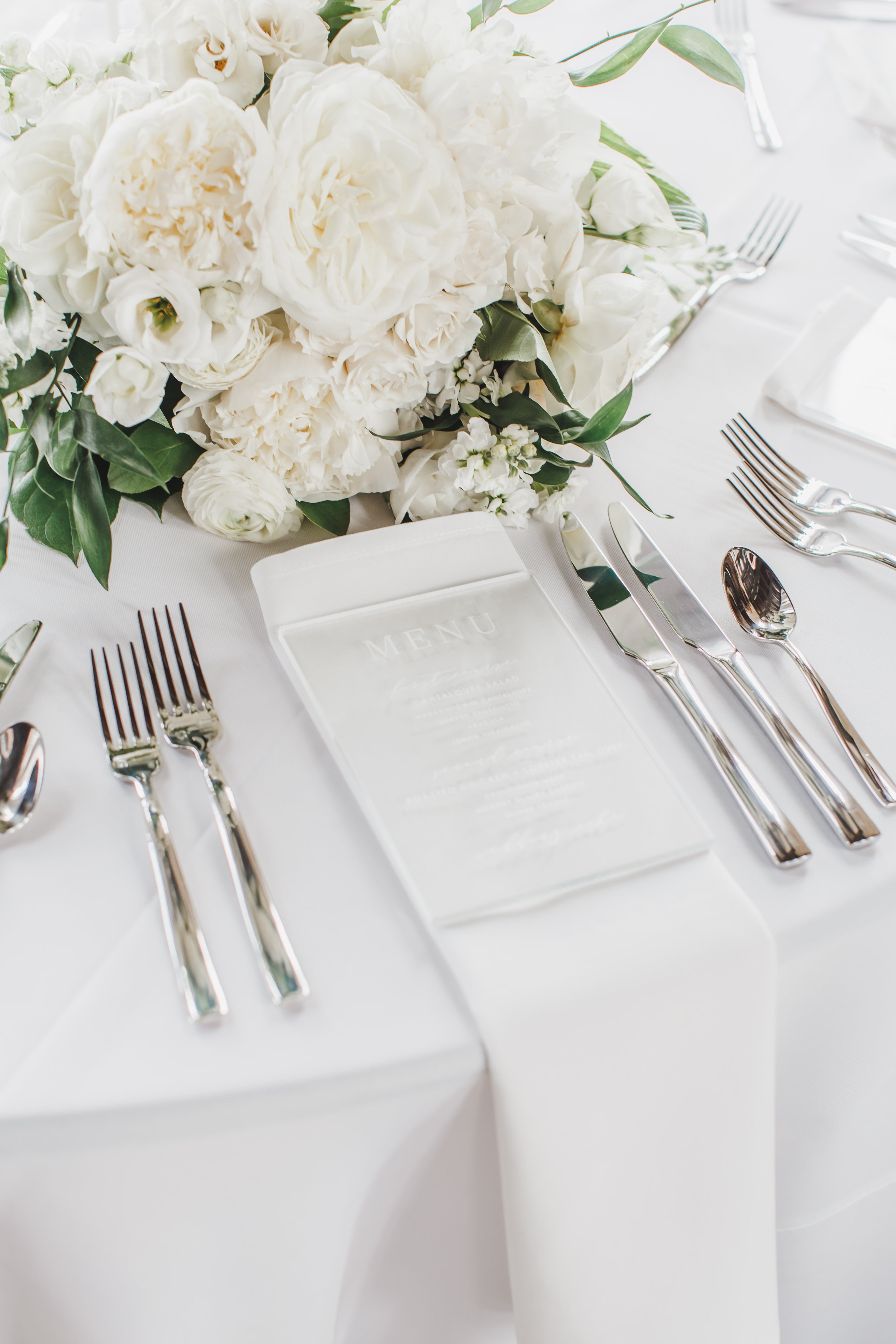 Elegant Reception Place Setting
