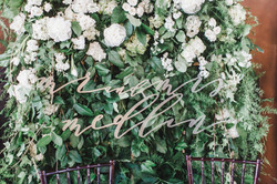 Mr. and Mrs. Calligraphy Sign