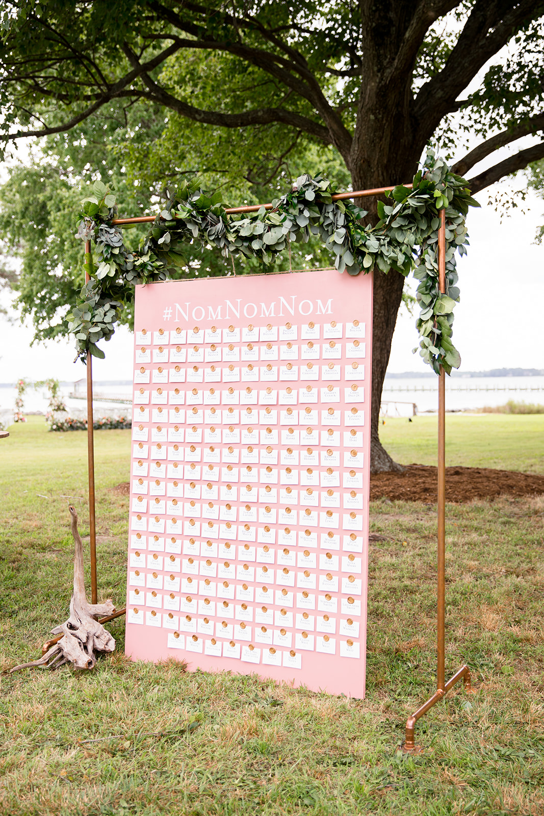 Outdoor Wedding Seating Chart