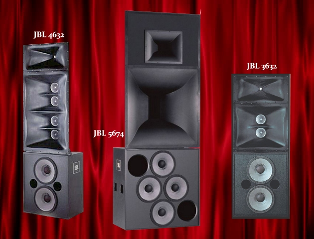 JBL CINEMA STAGE SPEAKERS