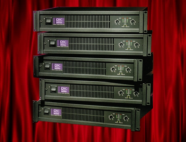 QSC DCA AMPLIFIERS