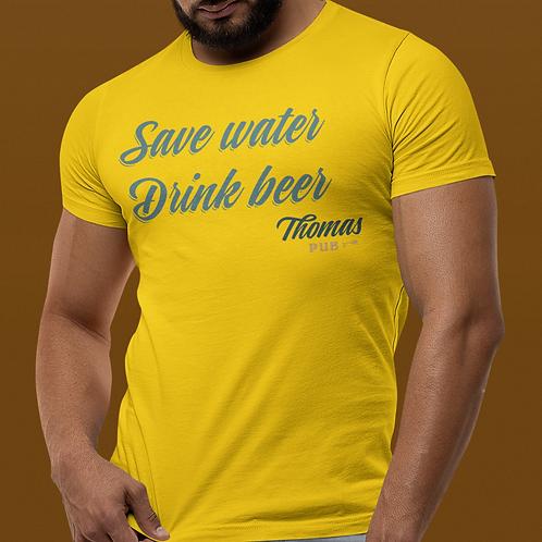 Camiseta Masculina Save Water
