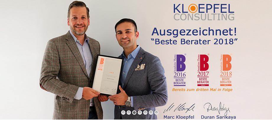 Pressearbeit für die Einkaufs- und Supply Chain Beratung Kloepfel Group