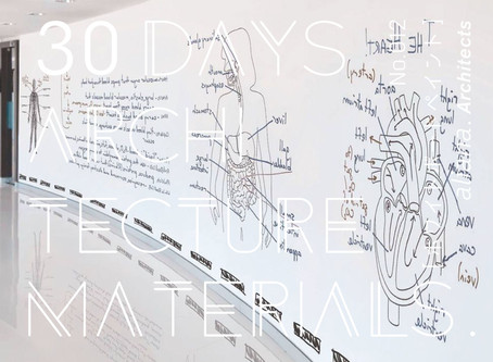 30Days_Architecture Materials No.012 [ホワイトボードペイント]