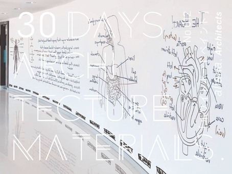 30Days_Architecture MaterialsNo.012 [ホワイトボードペイント]