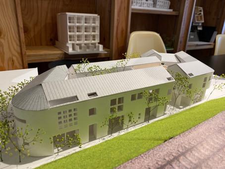 つづき屋根の集合住宅(設計中)