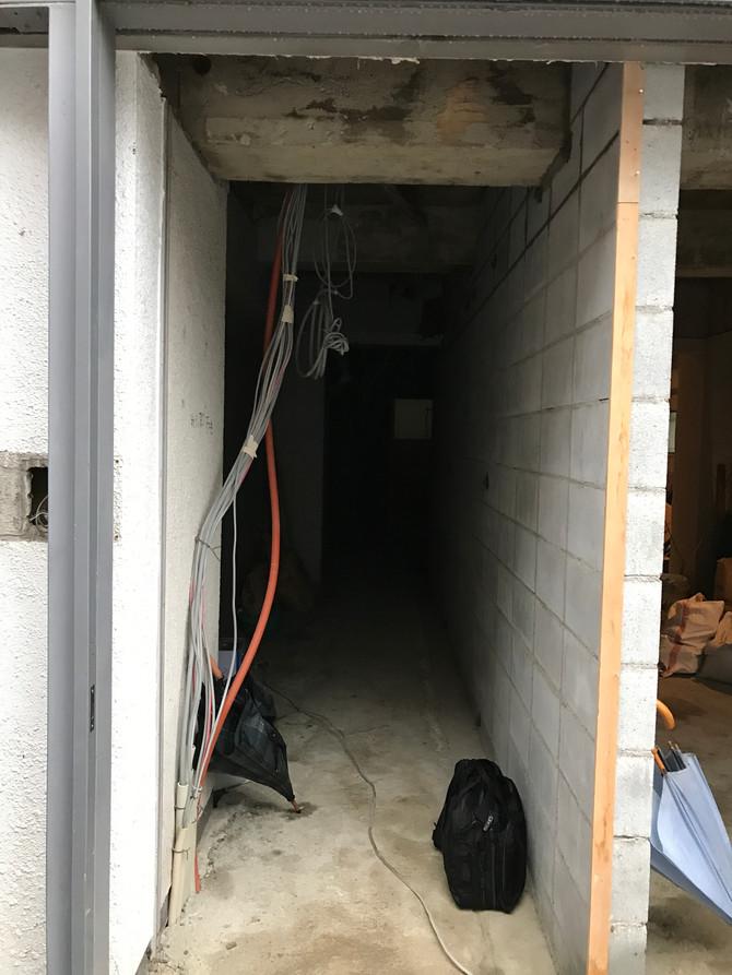 下丸屋町のビル改修(京都)