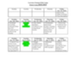 LSKC Schedule