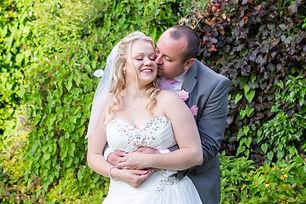 Kent wedding couple